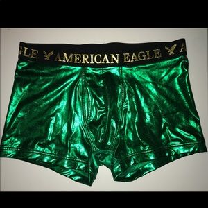American eagle Funny green boxers (San Patrick's)